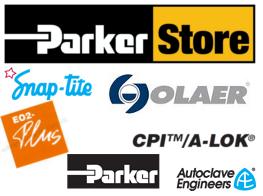 Logoer Parker Snap-Tite Olaer EO2 Autoclave